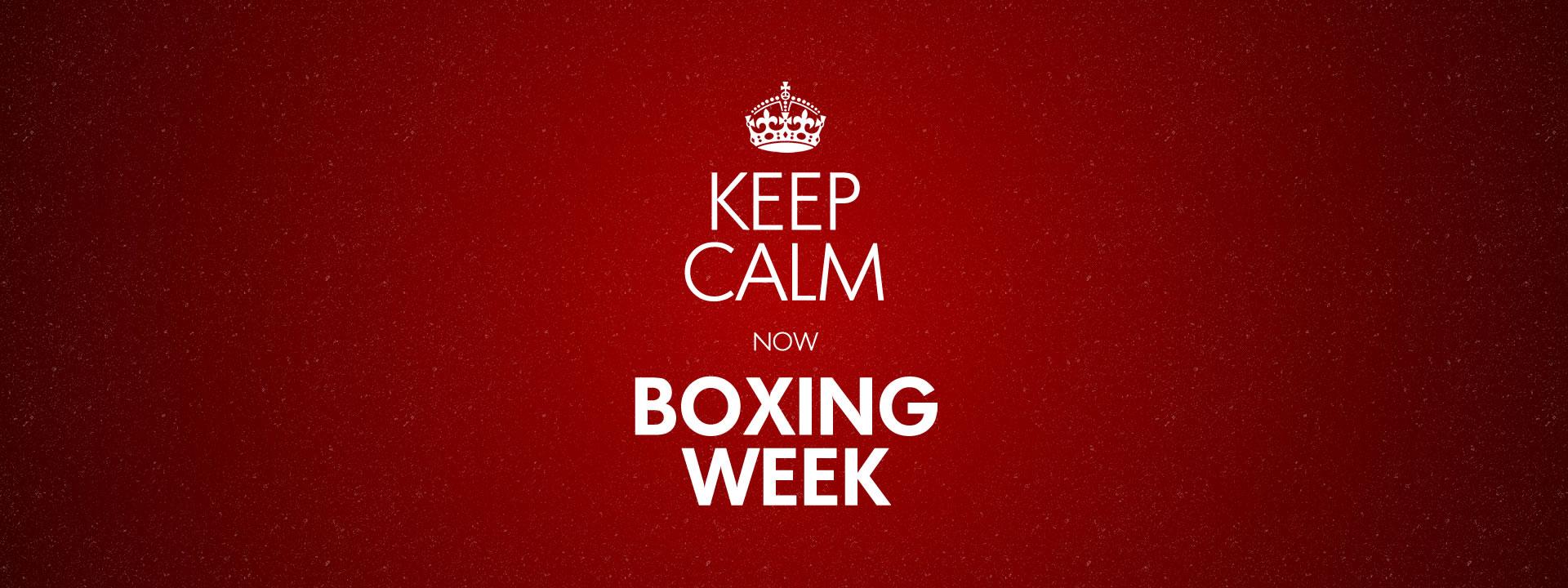 Boxing Day que nada agora é Boxing Week - Benefícios na hora da compra