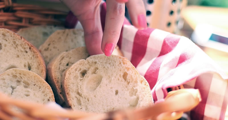 Guardanapos para cesto de pão