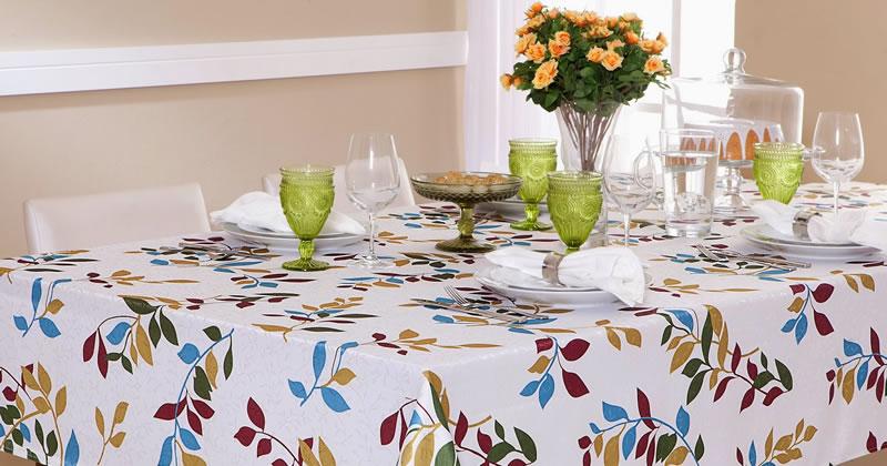Toalha de mesa para uso diários