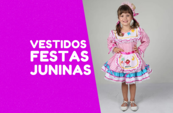 Vestidos fanfarrinha para sua festa junina